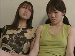 Lesbian toy sex with Japanese