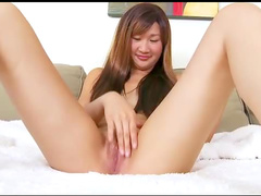 Toy warms up for cock