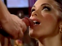 Sticky cumshot compilation with sluts