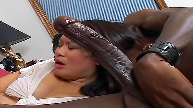 Black cock in asians