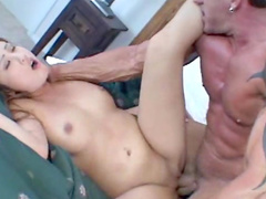 Asian power fucked in the hot cunt