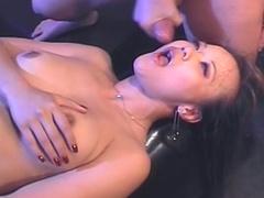 Kinky Asian wants cock in a sex swing