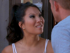 Making love to Asian girl Asa Akira