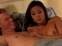 Small tits Asian Kaylani Lei hardcore sex