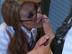 Asian schoolgirl Jayden Lee school sex