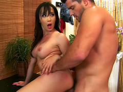 Asian Katsuni likes big cock inside her