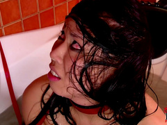 Kathia Nobili being fucked in anal by Tigerr Benson
