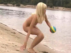 Naked erotic teens at beach