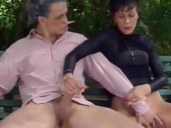 Retro fuck with big cocks