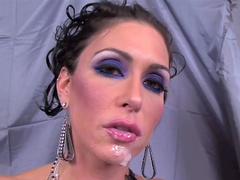 Big-dicked dude fuck with slender Jessica Jaymes