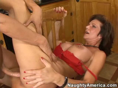 Milf cocksucker pounded hard
