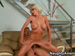 Milf takes ride on cock