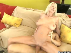 Young man inside Emma Starr