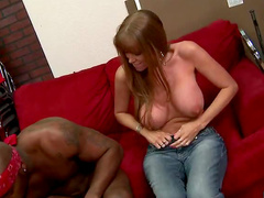 Freckled milf big cock sex