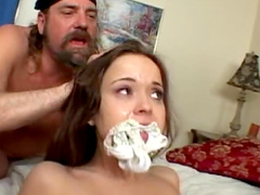 Big cumshot creampie in her cunt