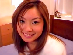 Redhead babe Kyouka Usami is getting drilled in mouth