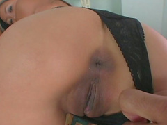 Sweet Asian ass fuck with hardcore slender Kara Tai