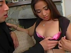 Scarlett Ventura being impaled in her anal hole