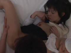 Konomi Futaba fuck with small dick of Mao Kataoka