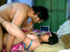 Indian couple have a nice sex from behind