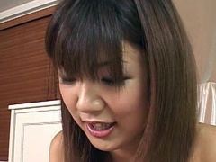 Rika Hayama is wanking this dick so sexy