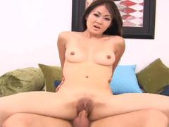 Kurt fuck slender Asian model Tayla in her pussy