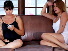 Asian Marika Hase and American Charmane Star