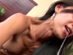 Asian babe Tia Ling is fucking in her skull