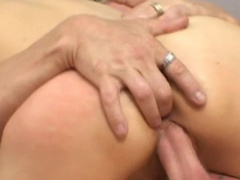 Asian chick is getting drilled in her anal