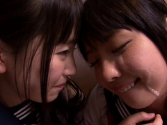 Amazing pleasures for young Asian schoolgirls