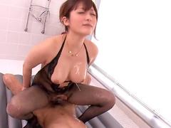 Amazing porn along sleazy Japanese babe