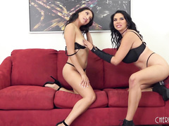 Missy and Vicki Chase Have Their Way With Each Others Holes