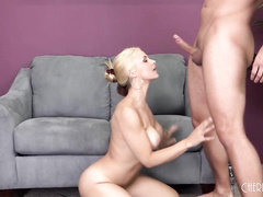 Fit Babe Sarah Vandella Fucks LIVE