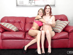 Karlie Montana and Viola Bailey Cum Together