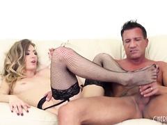 Pornstar Natasha Starr Fucks LIVE