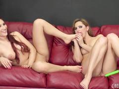 Pornstars Addison Ryder with Hope Howell