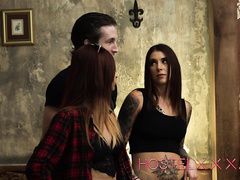 Hostelxxx Felicity Feline & Jade Jantzen Robbed and Roped Part 1