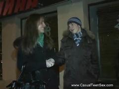 Wild casual teen sex