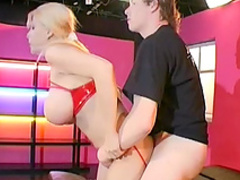 Sensual blonde Jasmin is swallowing so sweet