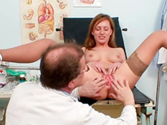 Olga fuck with her lovely doctor