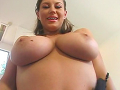 Sara is sucking two big dicks with pleasure
