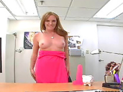Natural redhead and hardcore sex
