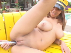 Tania Spice is a perverted nasty taxi girl