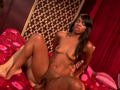 Anal penetration with perverted ebony Vanessa Monet